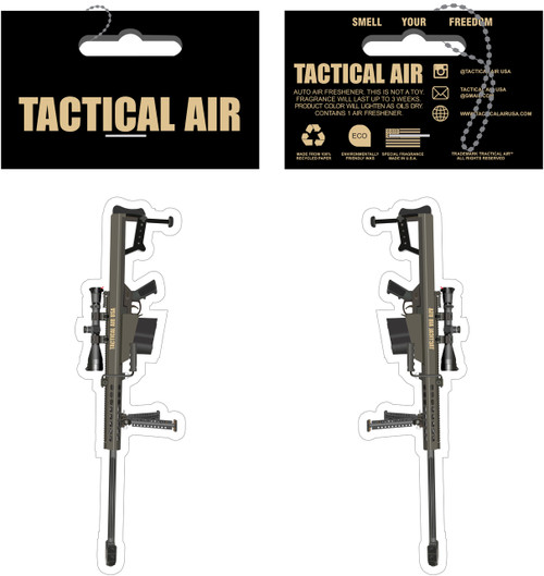 BARRETT 82A1 50 BMG RIFLE AIR FRESHENER