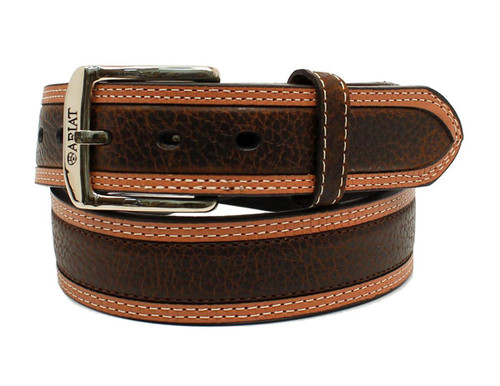 Men's Diesel Brown Rowdy Leather Belt