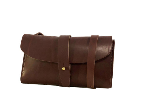 Brown Crossbody Wallet