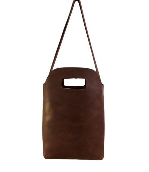 Brown Mini Market Tote