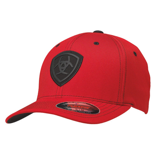 Men's Flex Fit Red Ball Cap