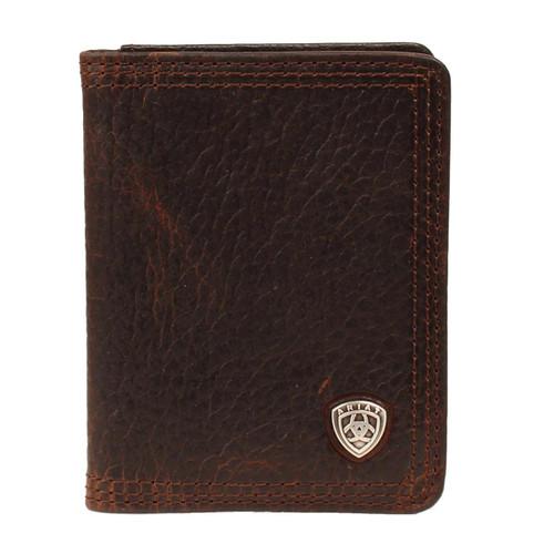 Men's Brown Rowdy Bifold Flipcase Wallet
