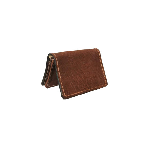 Genuine Bison Expandable Credit Card Case
