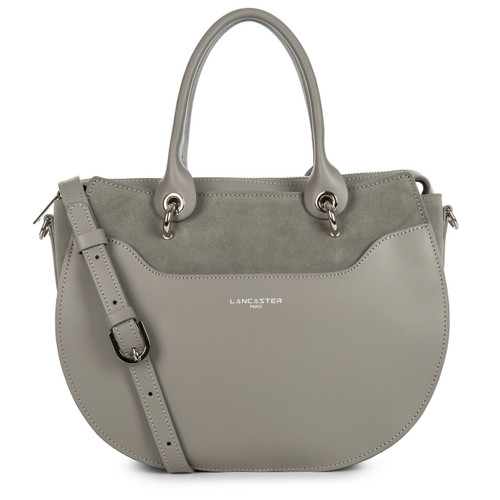 Vendome Lune Grey Large Circle Satchel