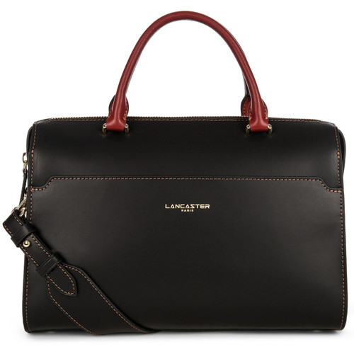 Camelia Large Black Colorblock Satchel