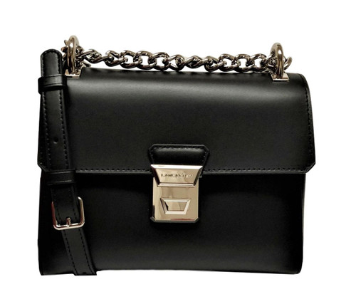 Tina Black Crossbody Shoulder Bag