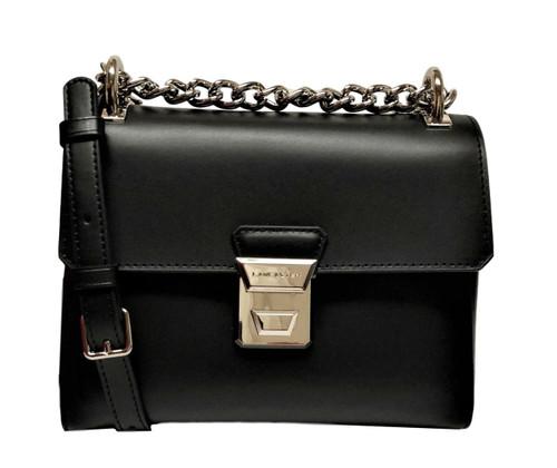Tina Black Crossbody Shoulder Bag