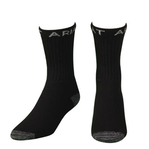 Men's Black Super Crew Boot Socks