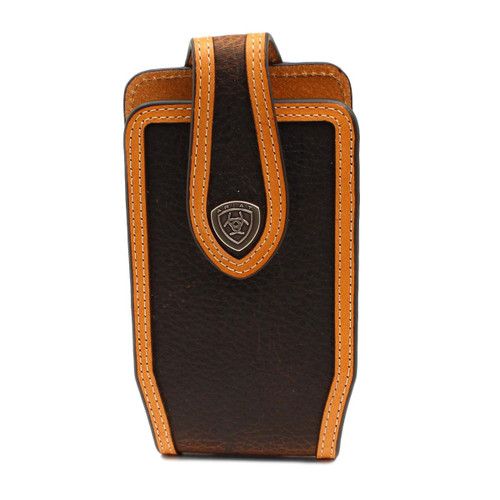 Brown Rowdy Two-Toned Tapered Cell Phone Case