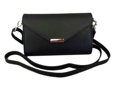 Timeless Black Touch Screen Crossbody Purse