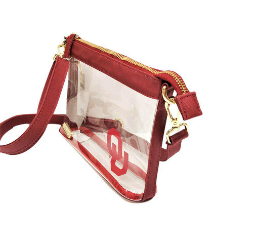 University of Oklahoma Stadium Clear Bag Crossbody