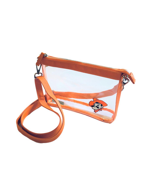 Oklahoma State University Stadium Clear Bag Crossbody