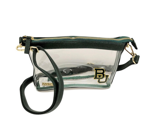 Baylor University Stadium Clear Bag Crossbody