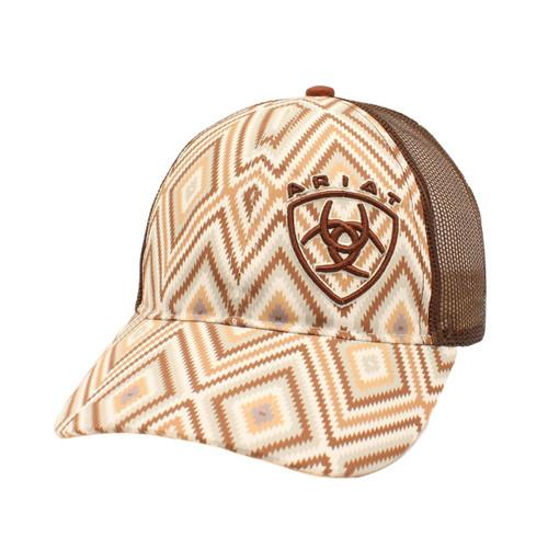 Women's Brown Aztec Low Profile Ball Cap