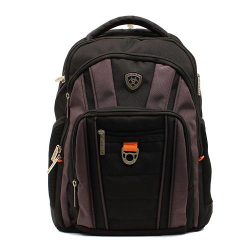 Heavy Duty Black Hi-Tech Canvas Backpack