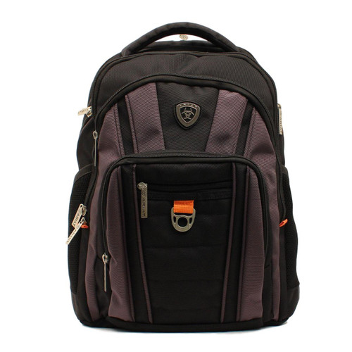 Heavy Duty Black Hi-Tech Canvas Backpack