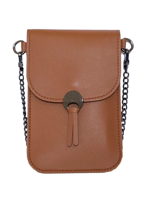 Colorado Brown Touch Screen Crossbody Purse