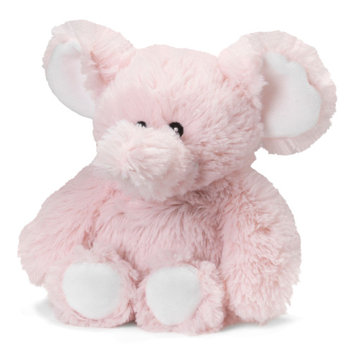 "13"" Cozy Plush Pink Elephant"