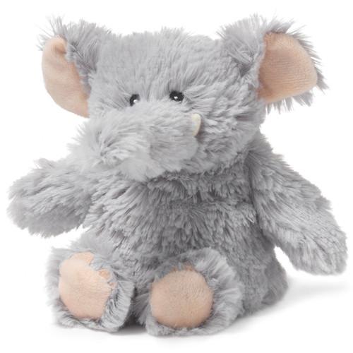 "9"" Cozy Plush Junior Grey Elephant"