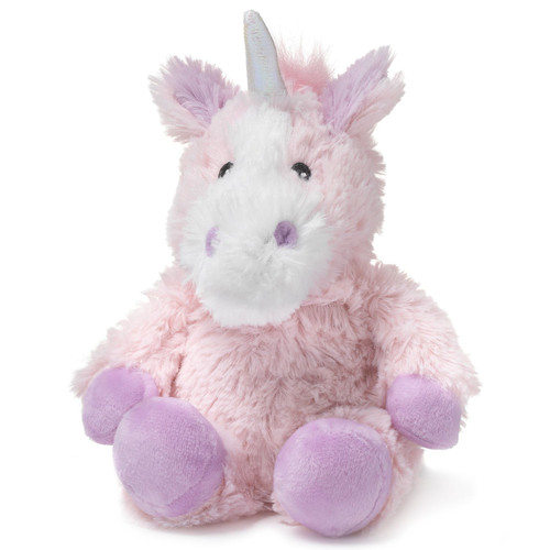 "9"" Cozy Plush Junior Pink Unicorn"