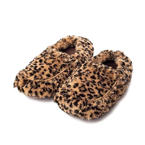 Women's Tawny Leopard Slippers