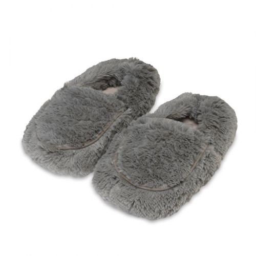 Women's Gray Spa Therapy Slippers