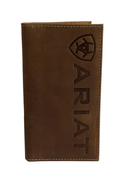 Men's Brown Leather Signature Rodeo Wallet