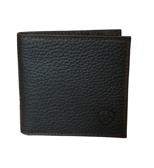 Men's Dark Brown Rowdy Bifold Large Leather Wallet