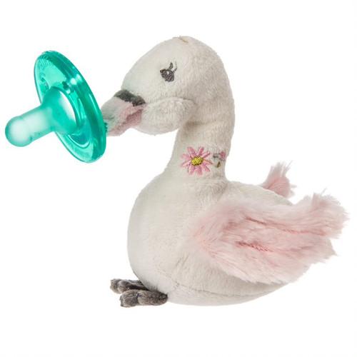Itsy Glitzy Swan WubbaNub Soothing Pacifier