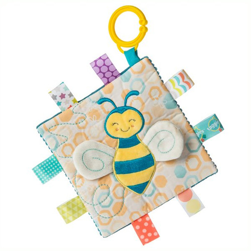 Taggies Crinkle Me Fuzzy Buzzy Bee Toy