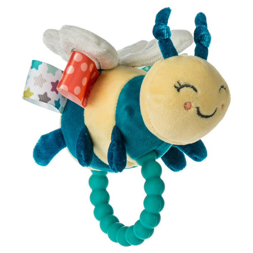 Taggies Fuzzy Buzzy Bee Baby Teether and Rattle
