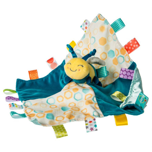 Taggies Fuzzy Buzzy Bee Character Blanket