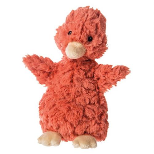 Putty Nursery Mucky Ducks  - Coral Soft Plush Toy