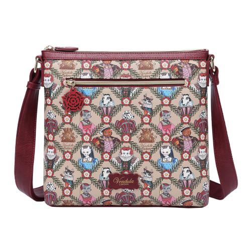 Vendula Heritage Tudor Flat Crossbody Bag