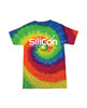 Unisex Rainbow 100% Cotton Tie Dye T-shirt