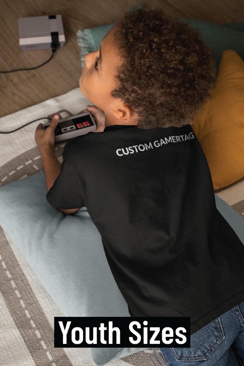 Youth Custom GamerTag Black Tee