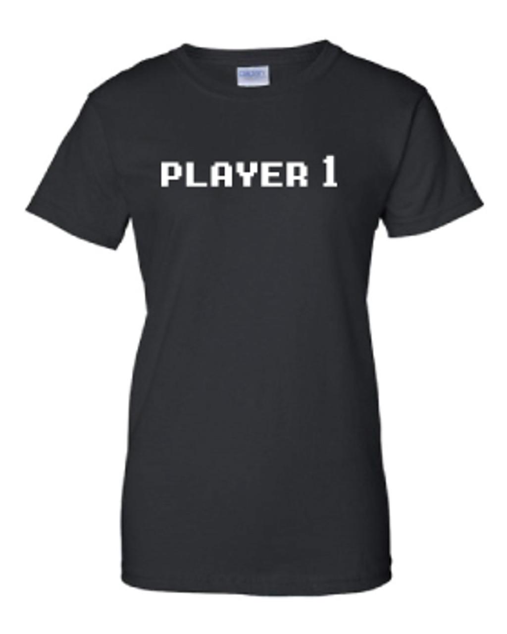 Ladies Custom GamerTag Black Tee