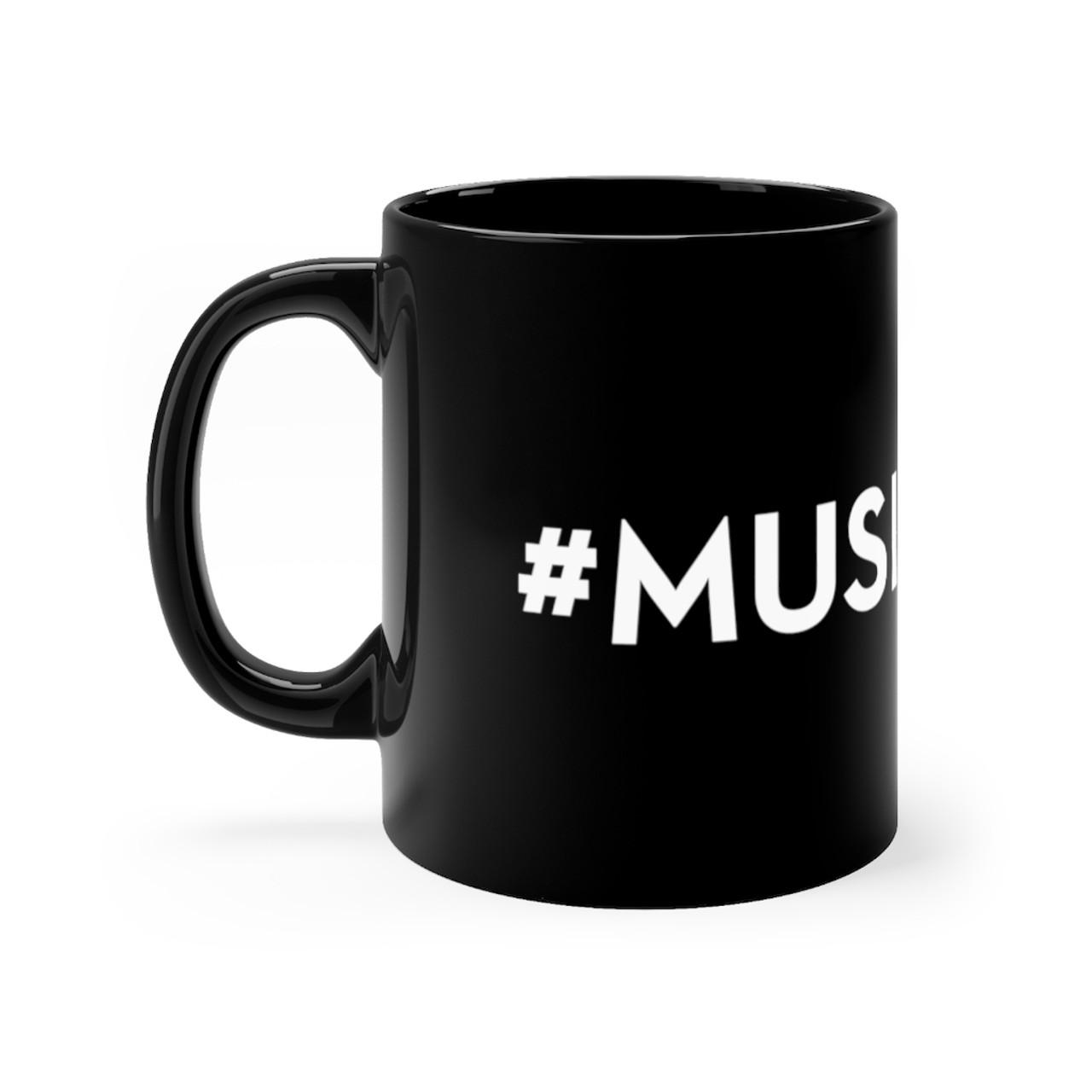 Black 11oz. Ceramic Mug