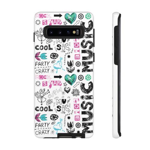 """Music Music"" Tough Case Polycarbonate Phone Case"