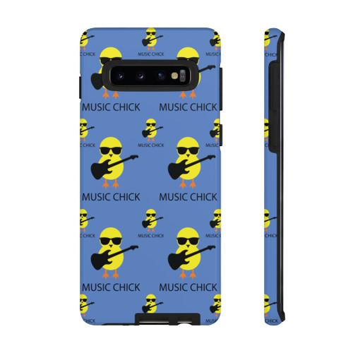 """Music Chick"" Tough Case Polycarbonate Phone Case"