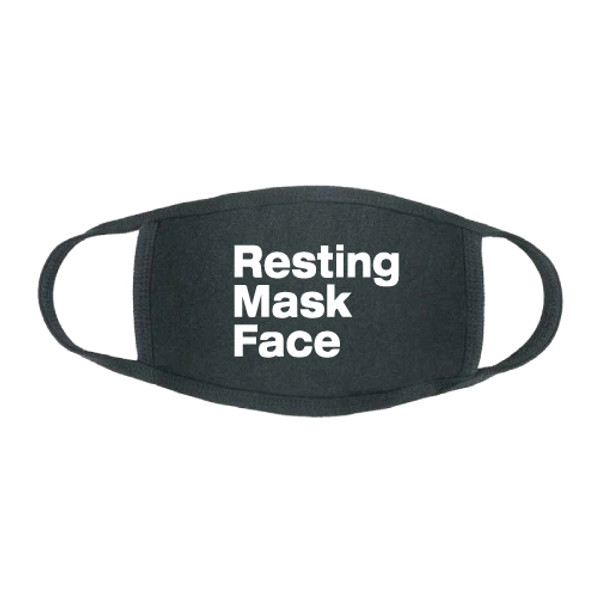 """Resting Mask Face"" Stretch Face Mask"