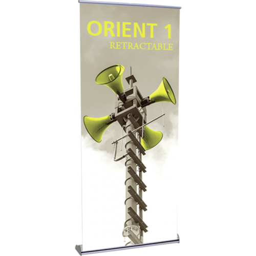 Retractable Banner w/Stand