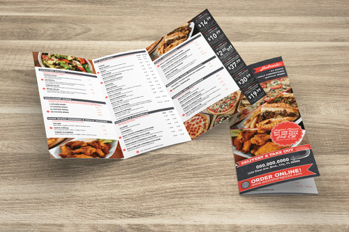 Mailer Menu With Coupons