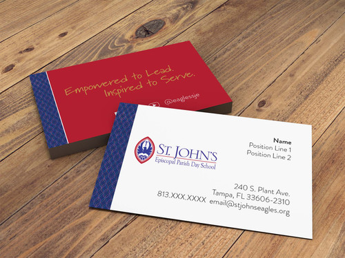 Business Cards (Day School - Middle Divison)