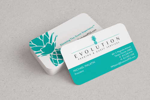 Evolution Business Cards