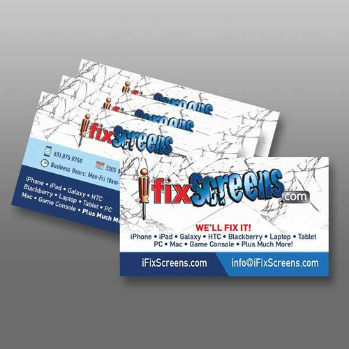 STORE BUSINESS CARDS
