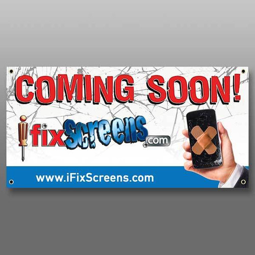 COMING SOON BANNER - 3X6