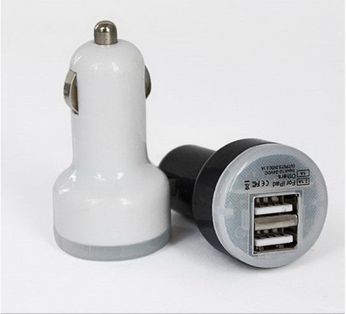 MINI DUAL USB CAR CHARGER/ ADAPTER