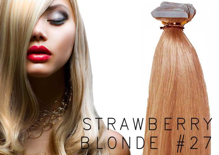 """20"""" TAPE EUROPEAN REMY HUMAN HAIR EXTENSION 