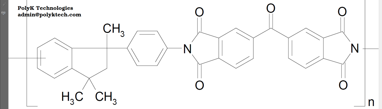 Matrimid 5218 Soluble Polyimide resin, Tg 326 C